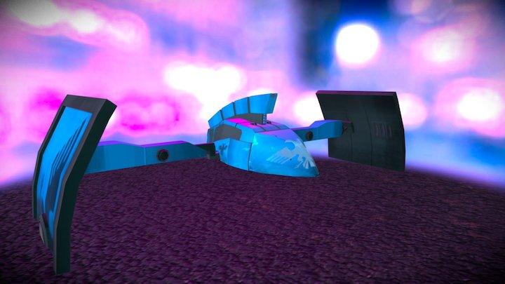 Cyber Punk Cop Craft 3D Model
