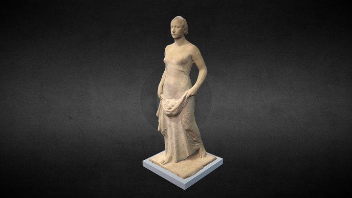 DONA I FRUITA - Josep Duñach Sala 3D Model