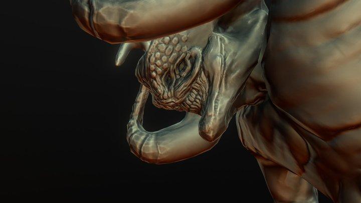Demon Animated 2 3D Model