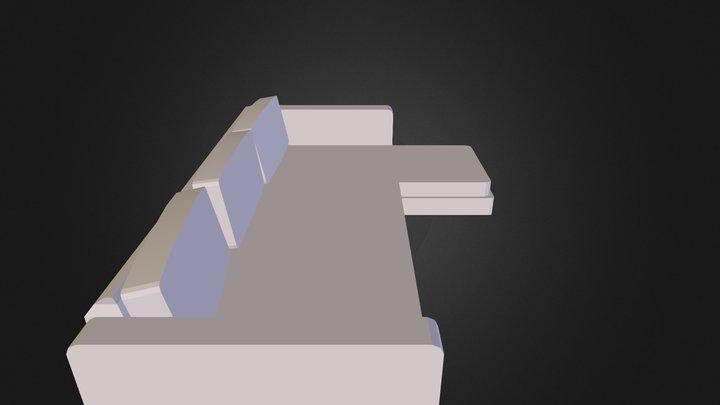 Sofa_Export 3D Model