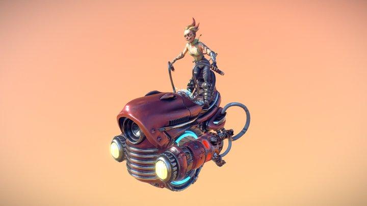 Cheryl Bike 3D Model