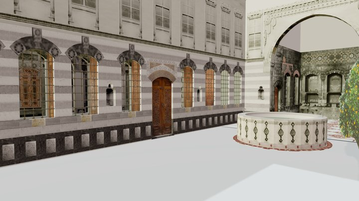 Model of a Damascene Home 3D Model