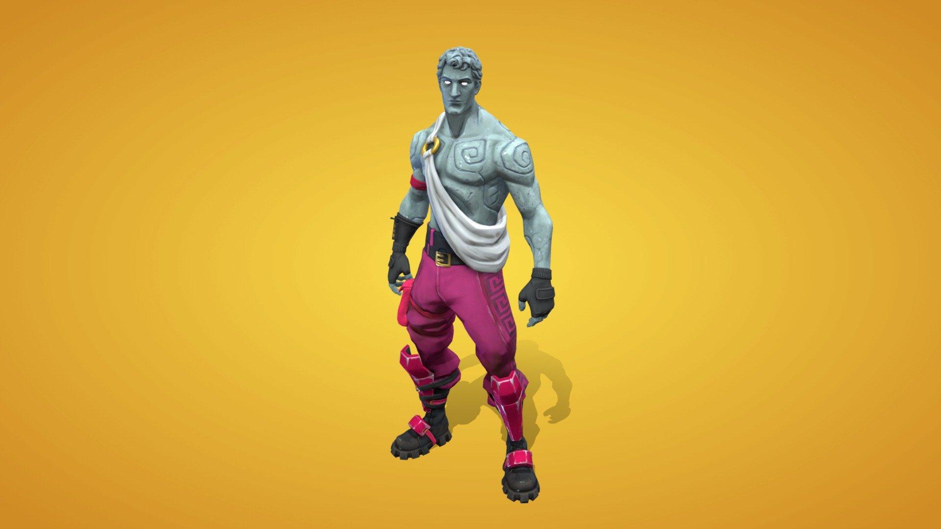 Love Ranger Outfit 3d Model By Fortnite Skins Fortniteskins 6489965 Sketchfab