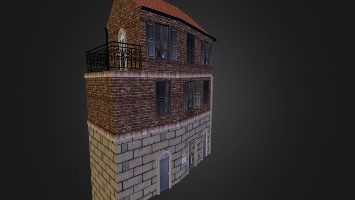 House_Cloth Store 3D Model