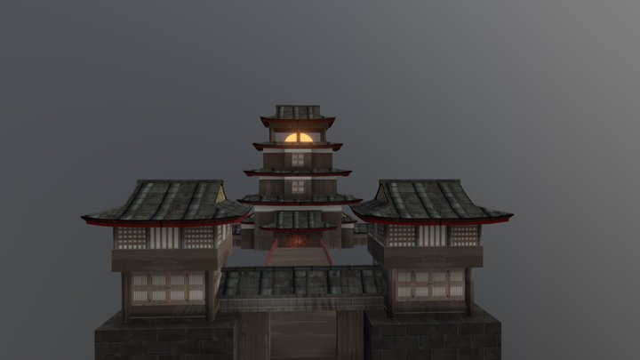 Chinese Fantasy06 3D Model