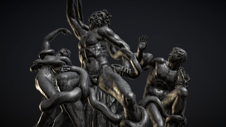 Laocoon and His Sons 3D Model