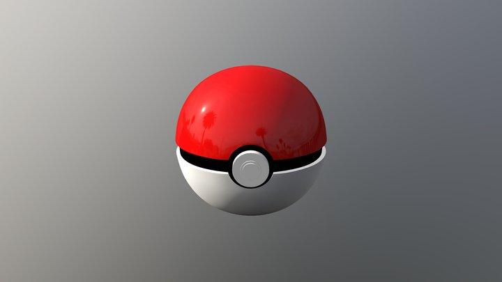 Pokeball by Blexyze 3D Model