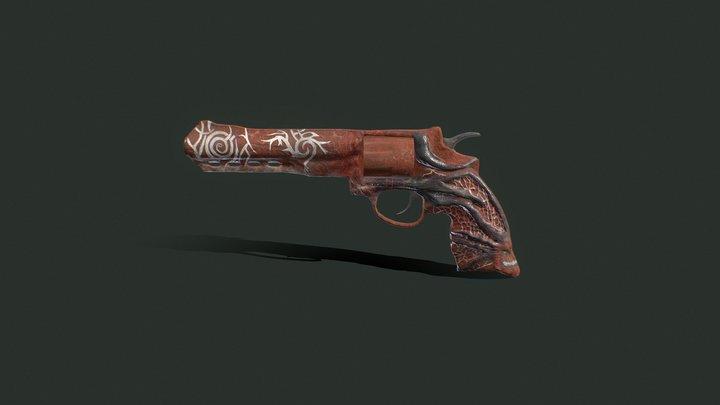 Dragon revolver 3D Model