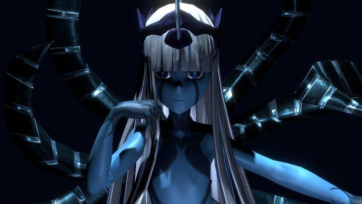 Klaxosaur Princess [001] 3D Model