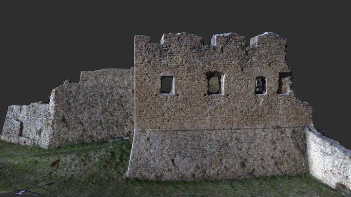 Castello di Tizzano (PR) 3D Model