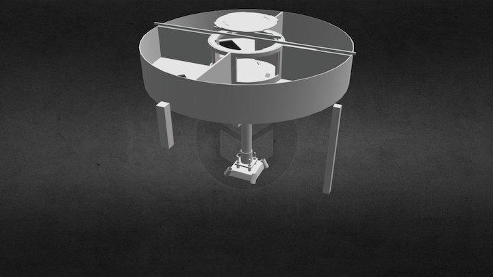 Droone Net - Station Hander & Computer Housing 3D Model