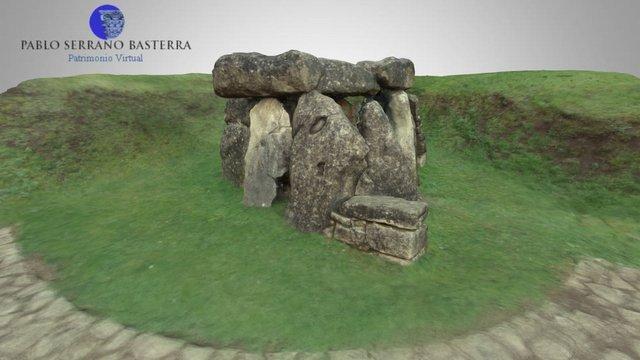 Dolmen de Aizkomendi (Egilatz, Alava) 3D Model