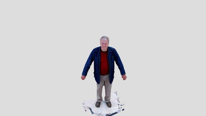 Full Body Photogrammetry Sample 3D Model