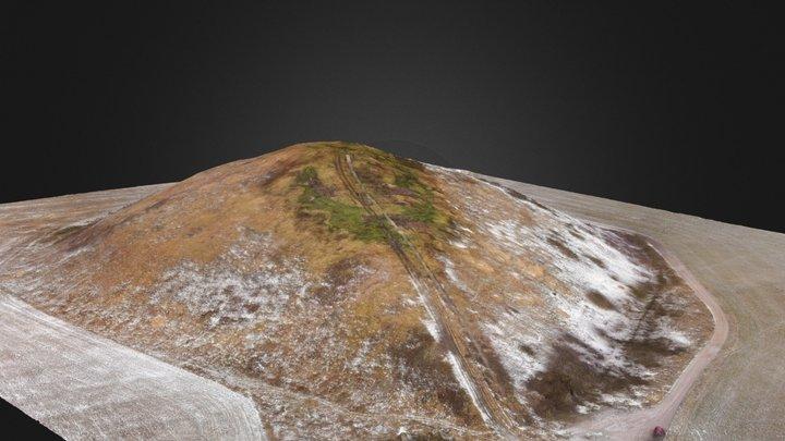 Kukruse waste rock mound 3D Model