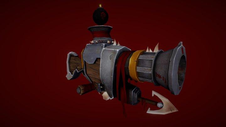 Bomb Thrower B.05 3D Model