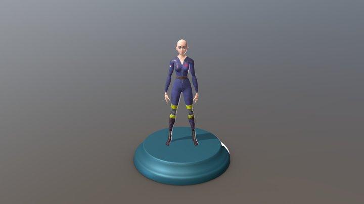 Character Mechanic Final 3D Model