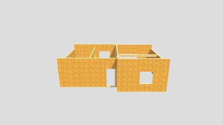 RK - zx77 - bez dachu - 2021.10.07 3D Model
