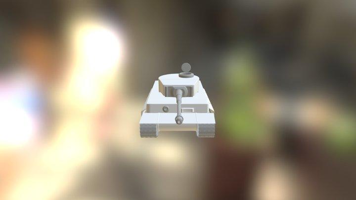 Tiger I Tank_hp_v1 3D Model