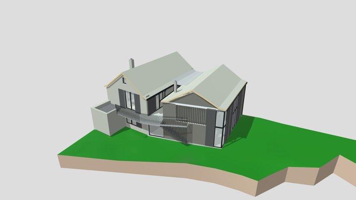Plans Calmels APD H+20 AC22 EXE 2019 3D Model