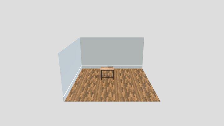 workdesk 3D Model