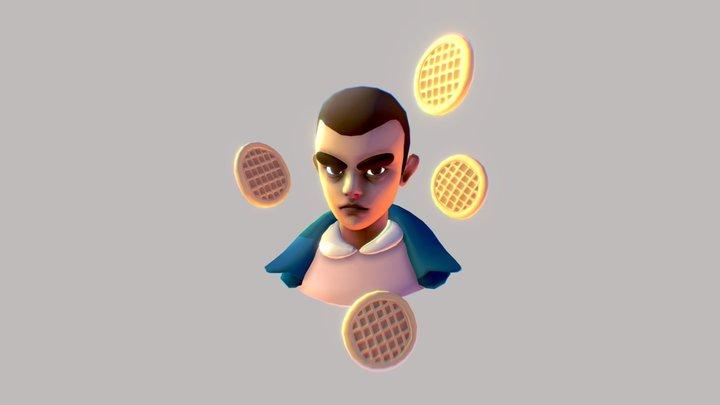 Stranger Things, Eleven 3D Model