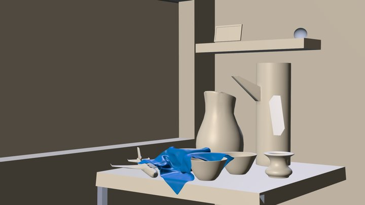 Still Life 3D Model