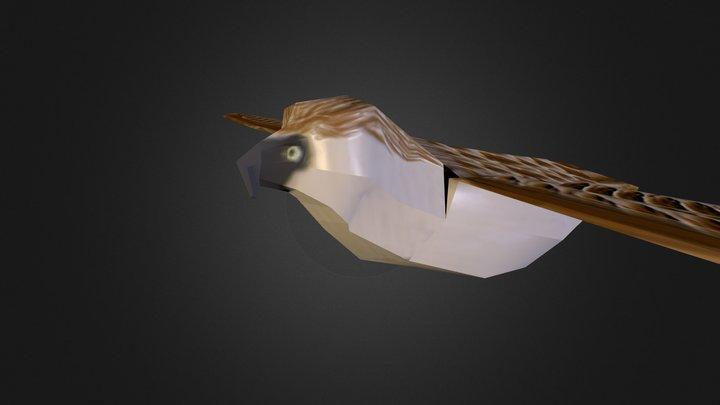 Bird3 3D Model