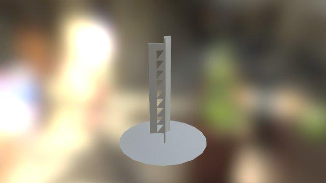 Escultura Jorge dos Anjos 3D Model