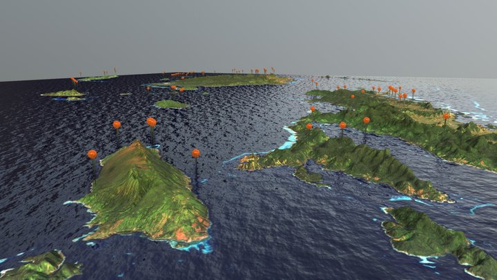 Fiji Islands - Strumigenys 3D Model