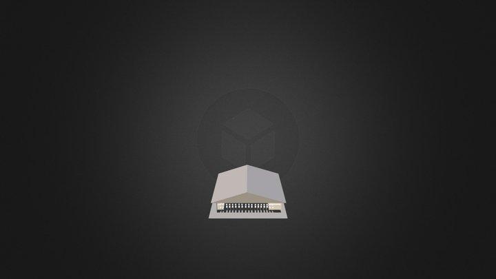 Temple Japonais Google Sketchup 3D Model