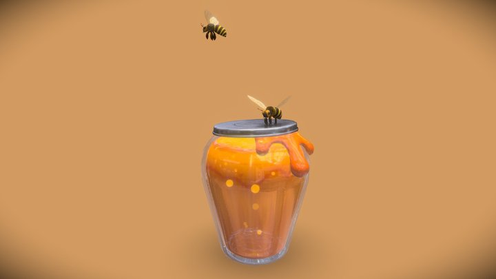 Are you Hungry Honey ? 3D Model