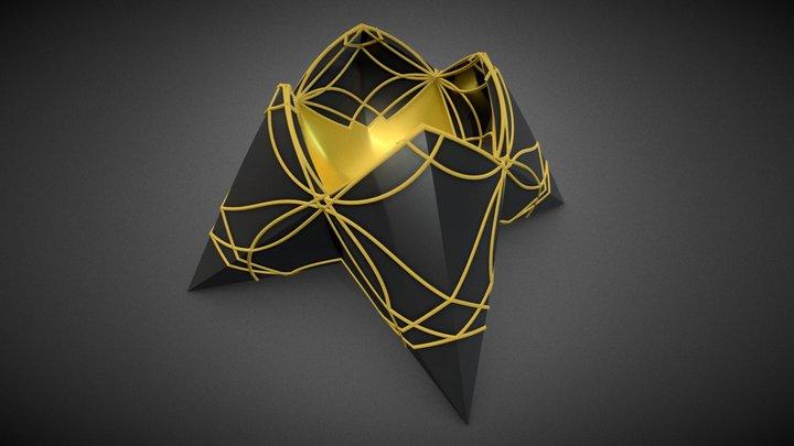 Rose Vessel 3D Model
