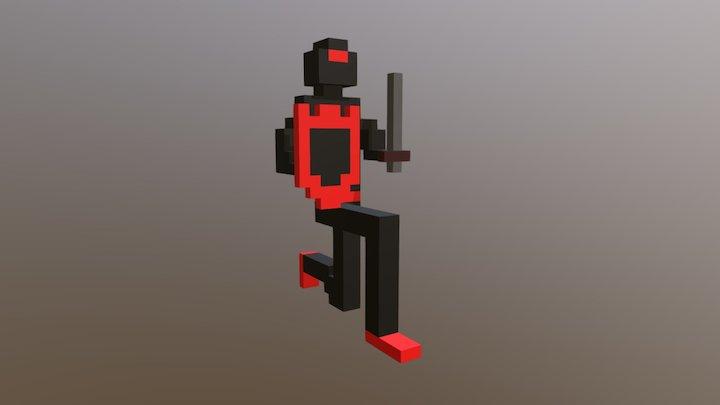 Ninja Guy 3D Model