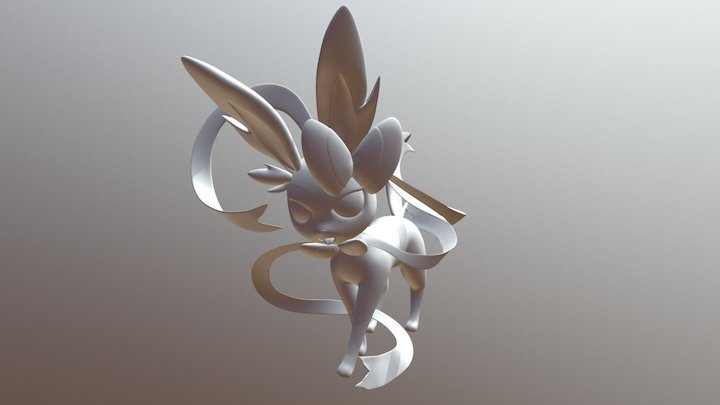 Sylveon 3D Model