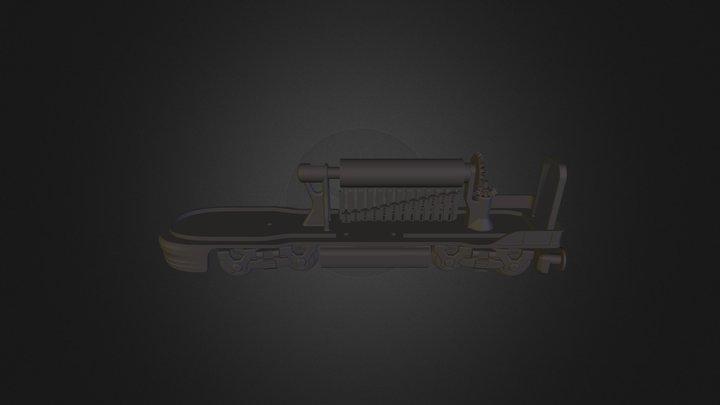 train top 3D Model