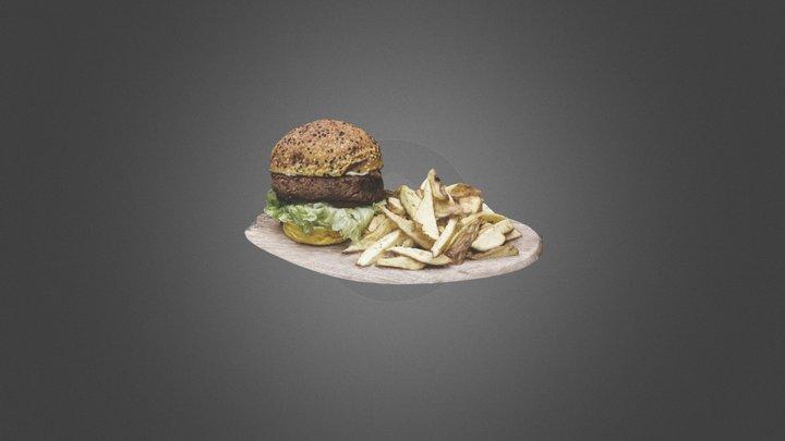 2020-02-20 20h47 Burger FBX 3D Model