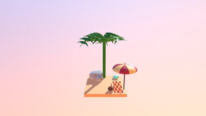 Beach wip3 3D Model