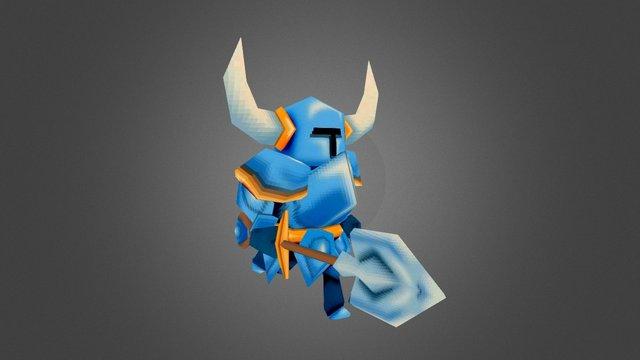 Shovel Knight 64 3D Model