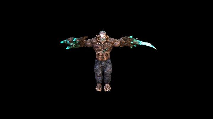 Dancing Alien 3D Model