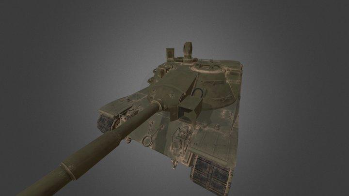 MBT-70 3D Model