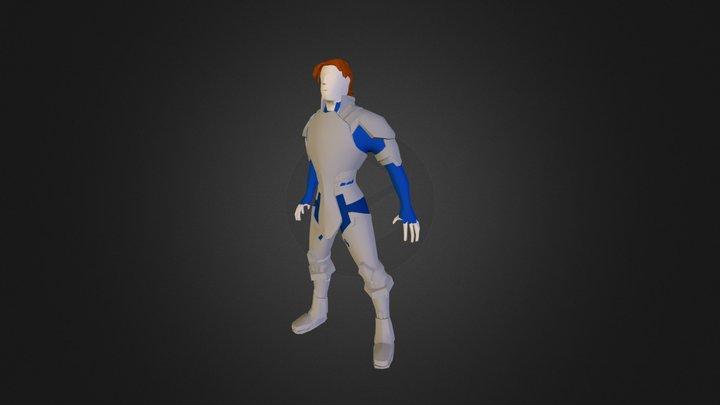 Eryk StormBringer 3D Model
