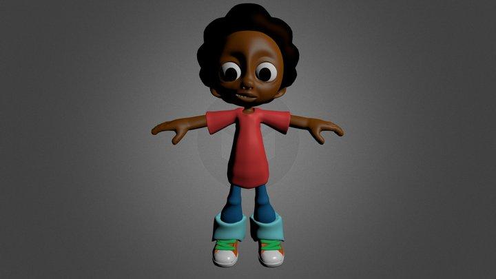 Milo Model: Rigged 3D Model