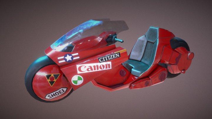 Kaneda´s motorbike 3D Model