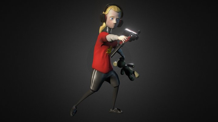 Assignment 5 - The Kid 3D Model
