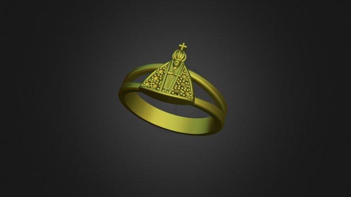 Ring Holy Zircon 3D Model