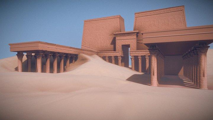 Tempel von Edfu 3D Model