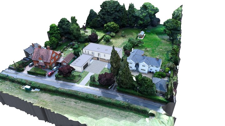 Lower Road Proposed + Site 3D Model