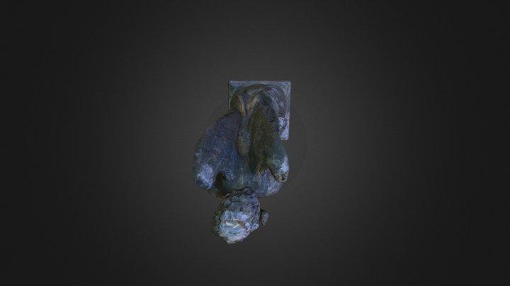 Escultura Arcángel Gabriel 3D Model