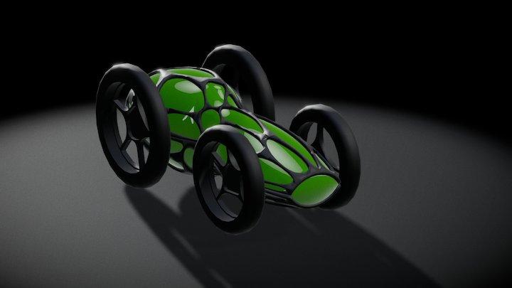 voronoi kara 3D Model