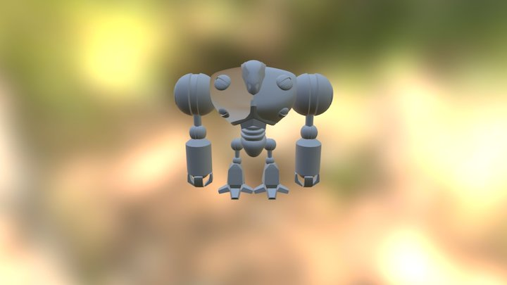 07-(c) Robot - Refined Arms And Legs 3D Model